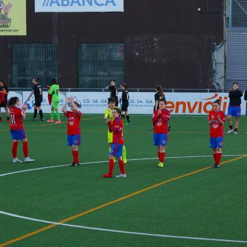 UD Ourense 5-0 SDC Milagrosa: Goleada vermella para seguir sumando