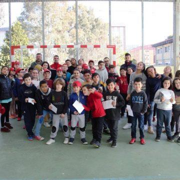 UD Ourense no C.E.I.P Manuel Sueiro