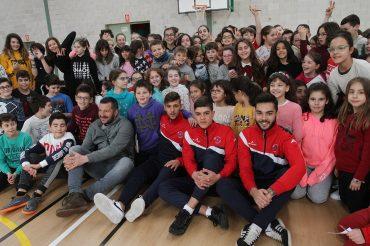 UD Ourense no C.E.I.P Mestre Vide