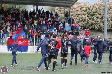 Erizana CF – UD Ourense: A conquista do Aral