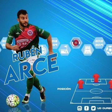 Rubén Arce, primeira fichaxe da UD Ourense