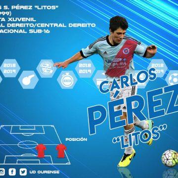 Carlos Pérez, nova incorporación da UD Ourense