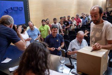 Resultadas das eleccións á Xunta Directiva