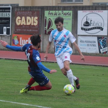 Alfredo: «Este é o mellor lugar para xogar ao fútbol en Ourense»
