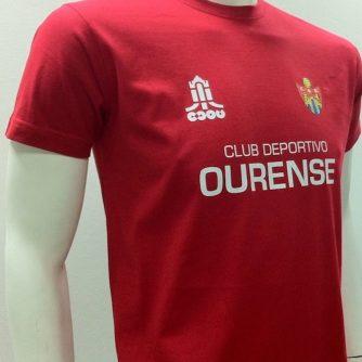 Camiseta Calentamiento CD Ourense 2013-14 1