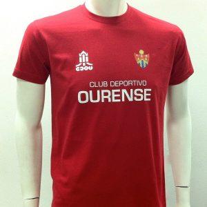 Camiseta Calentamiento CD Ourense 2013-14