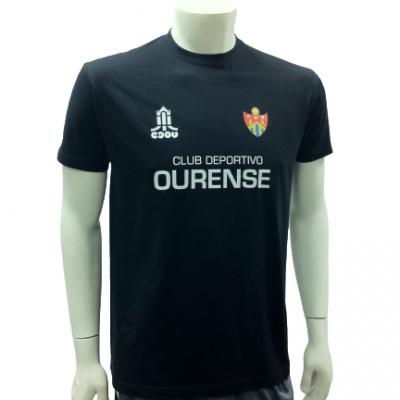 Camiseta Calentamiento CD Ourense 2013-14 (Negra)