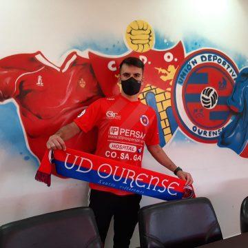 Nico: «A UD Ourense é unha aposta pola xente xoven. Gústame o proxecto»