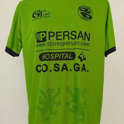 Camiseta de porteiro verde