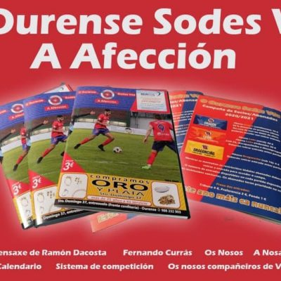 Revista oficial da UD Ourense